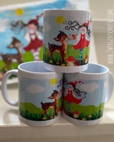 ♥MILLI in LOVE with REHlein♥ Tasse MUG 0.3L Lieblingstasse