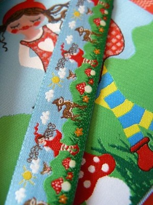 Milli ZWERGENSCHOEN fairy-tale RIBBON with BAMBI