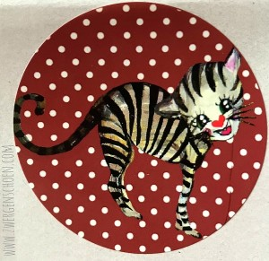 ♥KITTY♥ Sticker CAT Dotties 5cm 20pcs