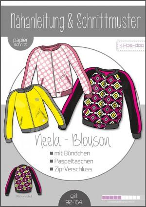 ♥Blouson Neela♥ Papier Schnittmuster DIN A0 GIRL 92-164