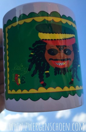 ♥RASTAman auf BUNT♥ Tasse MUG 0.3L KEEP CALM and JAH BLESS