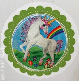 ♥UNICORN♥ Sticker 20pcs 5cm