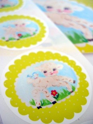 ♥SHEEP maeh maeh♥SWEETspring STICKER 20pieces 5cm