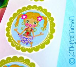 ♥YOYO YOGASCHÖN♥ Aufkleber 20Stck SWEET OM Sticker