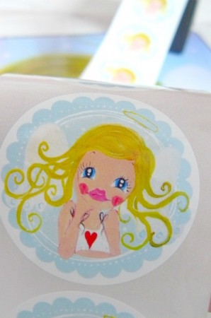 ♥GUARDIAN ANGEL♥sticker 20pcs SWEET ANGEL