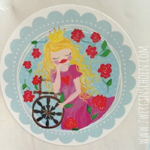 ♥SLEEPING BEAUTY♥Fairy Tale STICKER Set of 20