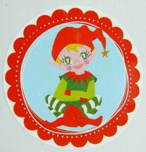 ♥FAIRY BOY♥ Sticker 20Pcs ELVES 5cm