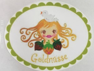 ♥GOLDNueSSE♥ Sticker CINDERELLA 10pcs 4x5cm