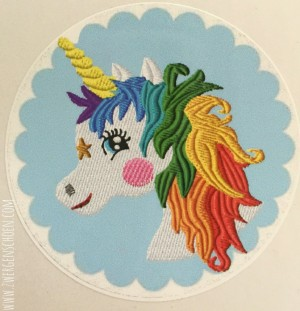 ♥UNICORN♥ RAINBOW Hair STICKER 20pcs