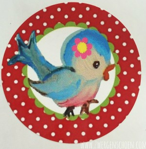 ♥BIRDY♥ Sticker 20pcs 5cm