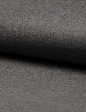 ♥CHAMBRAI♥ 0.5m CHAMBRAY TENCEL Cotton GREY/BLACK