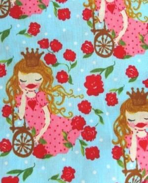 ♥ROSENSCHÖN♥ Sleeping Beauty DER STOFF Baumwolle ZWERGENSCHÖN