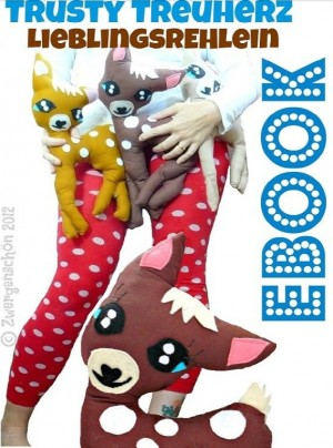♥TRUSTY♥True Blue LOVE-DEER ebook FIGURE