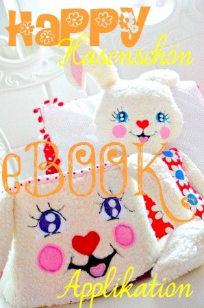♥HAPPY♥eBOOK applique SWEET BUNNY GIRL german!!!