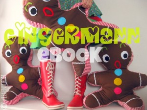 ♥GingerMANN♥ eBOOK LEBKUCHENMANN Nähanleitung