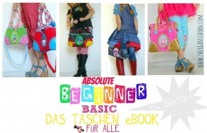 ♥ABSOLUTE BEGINNER BASIC♥ eBOOK Tasche 35x40cm