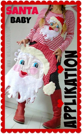 ♥SANTA BABY♥ Pattern APPLIQUE