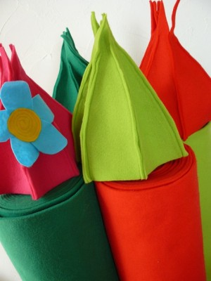 ♥FELT♥CHOOSE your COLOUR washable!!!!