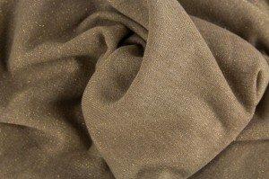 ♥GLAMOUR-SWEAT♥ 0.5m GLITZER Sweatshirt SAND-GOLD
