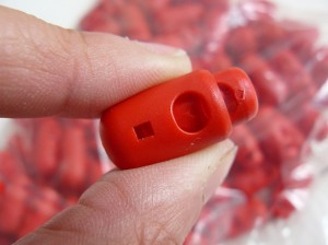 ♥CORD Stopper♥RED 2,5
