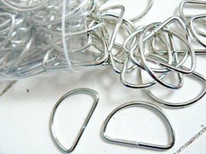 ♥D-RINGE♥ Taschenzubehör 4,5cm