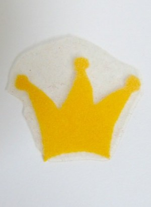 ♥sunny CROWN♥ Princess IRON IT Price for ONE 2cm