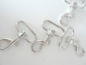 ♥SNAP HOOK♥4cm inkl. RING oval PRICE PER ONE