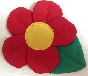 ♥FLOWER♥ Badge HANDMADE STYLE Applique