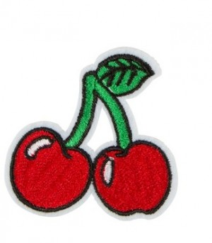 ♥KIRSCHE♥ Applikation PATCH Stickerei CHERRY