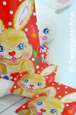 ♥SWEET BUNNY♥Postcard-SET 3pcs