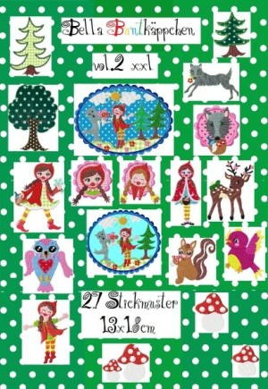 ♥BELLA BUNTKAEPPCHEN vol.2♥ red riding hood XXL 13x18