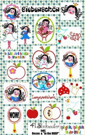 ♥BEAUTYseven♥ XXL embroidery-file-set 13x18cm
