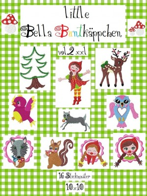 ♥little BELLA BUNTKAEPPCHEN vol.2♥ red riding hood XXL