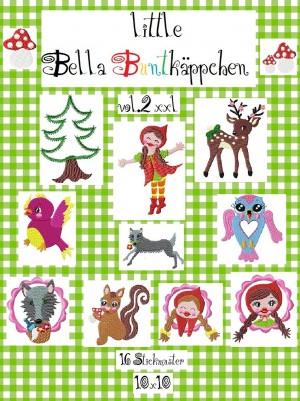 ♥little BELLA BUNTKÄPPCHEN vol.2♥ XXL-Jubel-Stickdat