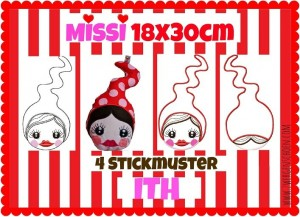 ♥MISSI♥ 18x30cm & InTheHooP ITH