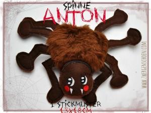 ♥ANTON♥ Spinne ITH Spezial 13x18cm