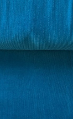 ♥CORDUROY♥ 0.5m BABYCORD Superwash TURQUISE BLUE