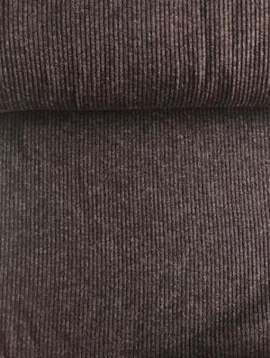 ♥RIPP-Bündchen♥ 0.25m JERSEY Rib BRAUN brown