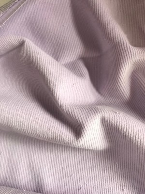 ♥CORDUROY♥ 0.5m VIOLET light PURPLE