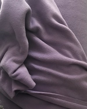 ♥POLAR FLEECE de LUXE♥ 0.5m FLEECE flieder VIOLETT