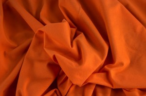 ♥UNI-JERSEY♥ 0.5m GITTE Jersey uni Orange