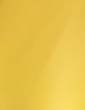 ♥KUNSTLEDER♥ 0.5m GENARBT gelb YELLOW selten