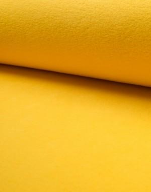 ♥POLAR-FLEECE de LUXE♥ 0.5m GELB Sonnengelb