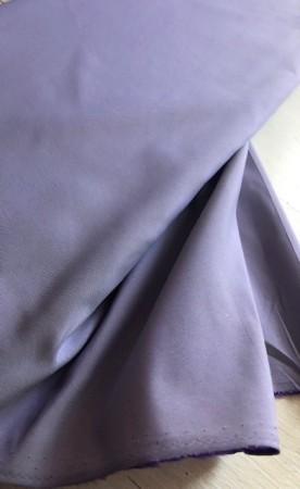 ♥HILCO♥ 0.5m FAIRY fabric TAFFETA violet