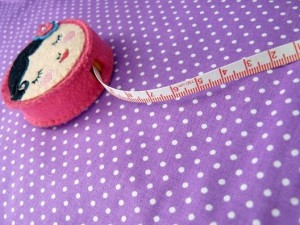 ♥little POLKA DOTs♥ 0.5m fabric WONDERmagic COTTON