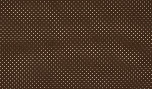 ♥little POLKA DOTS♥ Cotton BROWN price per 0.5METER