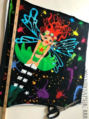 ♥FAIRIES on GRAFFITISCHöN♥ 1 PANEL Doing Doing FEE Jersey