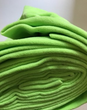 ♥FLEECE♥ 0.5m KIWI green