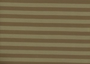 ♥STRIPES♥ 0.5m Jersey OLIVE/brown