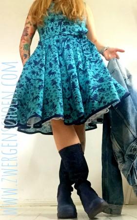 ♥FAIRYtausendSCHÖN♥ 0.5m BAUMWOLLE blau MÄRCHEN